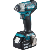 Makita DTW180RMJ 18V Impact Wrench BL LXT with 2 x Batteries, Charger & Makpac Case