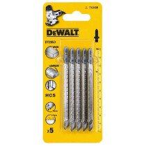 DeWalt DT2053-QZ Jigsaw Blades HCS Down Cutting Wood, Laminate DOC 30mm (T101BR)