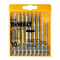 DeWalt DT2290 10 Piece Wood-Cutting Jigsaw Blades Set