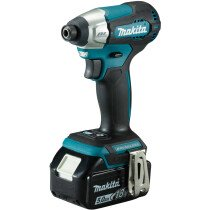 Makita DTD157RTJ 18v LXT Brushless Impact Driver with 2x 5.0Ah BAtteries in Makpac Case