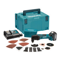 Makita DTM50RM1J3 18v Oscillating Multi Tool with 30 Accessories and 1x 4.0Ah Battery in MakPac CAse
