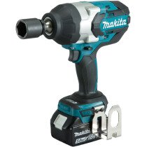 "Makita DTW1001RTJ 18v 3/4"" Square Drive 1050Nm Impact Wrench with 2 Batteries in Case"