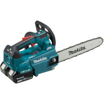 Makita DUC306PG2 Twin 18V Top Handle Chainsaw 30cm with 2 x 6.0Ah Batteries
