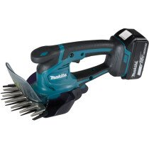 Makita DUM604RTX 18V Grass Shears + Hedge Trimmer Attachment with 1 x 5.0Ah Battery