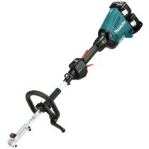 Makita DUX60PT2 Twin 18v (36v) Brushless Split-Shaft BL LXT with 2x 5.0Ah Batteries and DC18RD Twin-Port Charger