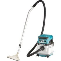 Makita DVC154LZ Body Only Twin 18v Brushless L Class Dust Extractor with AWS