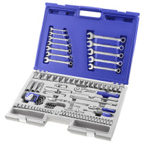 Expert By Facom E032911 Mixed Drive 101 Piece Socket and Wrench Set in Case