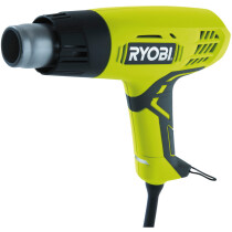 Ryobi EHG2000 2000W Corded Heat Gun with 2 Heat Settings and 2 Nozzles EHG2000