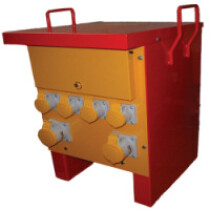 Lawson-HIS M100C 10 kVA Single Phase Site Transformer (4 x 16 amp 2 x 32 amp sockets)