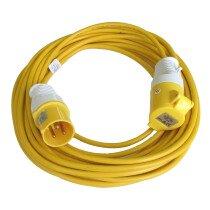 Lawson-HIS ELF023 16 Amp 110v Volt  x 14m Metre 1.5mm Extension Cable Lead