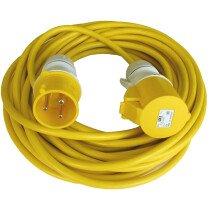 Lawson-HIS ELF023-32 32 Amp 110 Volt x 14 Metre 4.0mm Extension Cable Lead