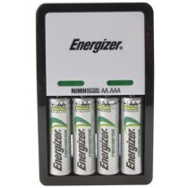 Energizer S5242 Compact Charger with 4 x AA 2000 mAh Batteries Included ENGCOMPAC