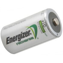 Energizer S633 C Cell Rechargeable Batteries RC2500 mAh Pack of 2 ENGRCC2500