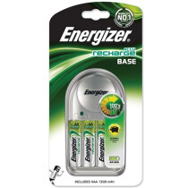 Energizer S4814 Charger 1300 with 4 AA 1300 mAh Batteries Included ENGRCCOMPACT