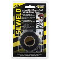 Everbuild 2SILWELD3BK Silweld Silicone Repair Tape Black 3mtr EVB2SWELDBK