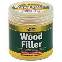 Everbuild EVBMPWF250 Multi-Purpose Premium Joiners Grade Wood Filler 250ml