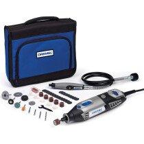 Dremel F0134000JB 4000 Series Multi Tool With Flexishaft and 45 Accessories