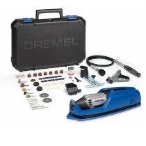 Dremel F0134000JR 4000 Series Multitool With 65 Accessories  EZ Wrap Case NEW