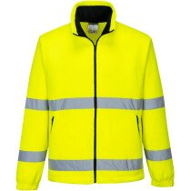 Portwest F250 Hi-Vis Essential Fleece High Visibility - Available in Yellow or Orange