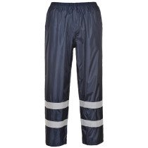 Portwest F441 Classic Iona Rain Rainwear Trousers - Navy Blue
