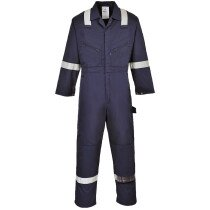 Portwest F813 Iona Coverall - Available in Navy Blue & Black