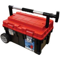 Faithfull FAITB23CHEST Patrol Wheelbox 2 Plastic Mobile Tool Chest 23in