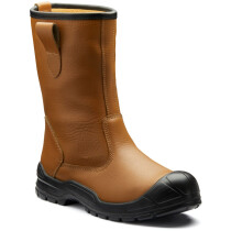 Dickies FA23355S Dixon Unlined Safety Rigger - Tan - UK Size 9 - Special Clearance Item!