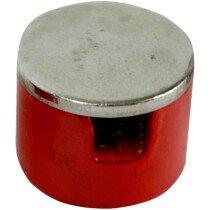 Faithfull FAIMAGBM190 Button Magnet 19.0mm Power 1.8kg