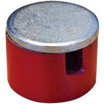 Faithfull FAIMAGBM254 Button Magnet 25.4mm Power 3.2kg