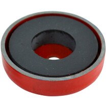 Faithfull AMP-0626 Shallow Pot Magnet 35 x 8mm Power 5.5kg FAIMAGSM350