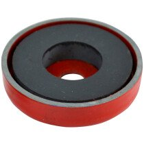 Faithfull AMP-0657 Shallow Pot Magnet 50.8 x 8mm Power 10.0kg FAIMAGSM508