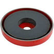 Faithfull AMP-0658 Shallow Pot Magnet 70.0 x 6.35mm Power 15.0kg FAIMAGSM700