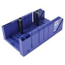 Faithfull FAIMBP Plastic Mitre Box with Pegs