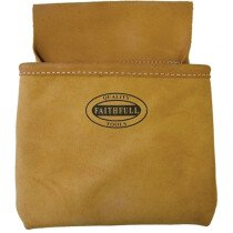 Faithfull FAINP1 Nail Pouch - Single Pocket