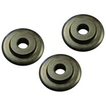 Faithfull FAIPCW642 Pipe Cutter Replacement Wheels (Pack of 3) for PC642