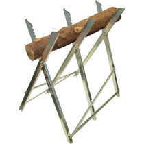 Faithfull FAISAWHORSE Saw Horse Folding Trestle Galvanised (Single)