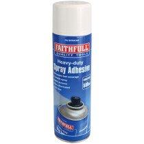 Faithfull KGFAISPRAYAD Spray Adhesive Non-Chlorinated 500ml FAISPRAYAD