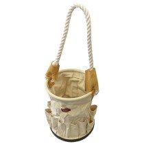 Faithfull FAITBBUCKET Canvas Tool Bucket with Rope Handle