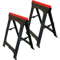 Faithfull FAITRESTLESP Plastic Trestles (Twin Pack)