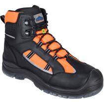 Portwest FC59 Compositelite Retroglo Hi-Vis Boot S3 WR ESD - High Visibility