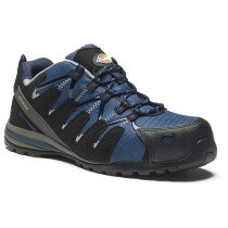 Dickies FC23530 Tiber Safety Trainer S3 SRC - Navy Blue -  (UK Size 5) - Special Clearance Item