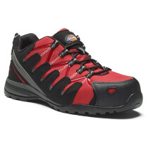 Dickies FC23530 Tiber Safety Trainer S3 SRC - Red - UK Size 6