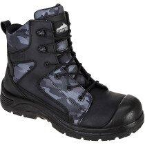 Portwest FC56 Compositelite Camo Strike Boot S3 WR - Black