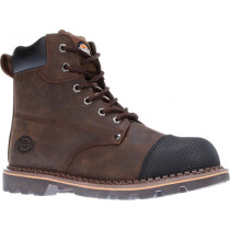 Dickies FD9210 Crawford Leather Safety Boot SB-P HRO SRC - Brown