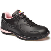 Dickies FD13905 Ohio Womens Safety Trainer - Black/Pink