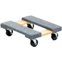 GPC FD400Y Carpeted Hard Wood Dolly 460 x 310mm