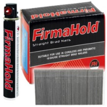 FirmaHold BG1619G 19mm Second Fix Straight Nails, Paslode Compatible (Box 2,000) BG16 19G