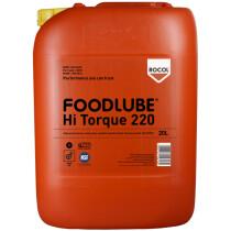 Rocol 15525 Foodlube Hi Torque 220 (with SUPS) Gear Fluids (NSF Registered) 20ltr