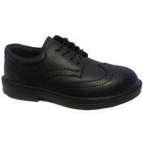 Forma A086F05069 Executive Black Brogue Safety Shoe S1P (UK Size 6)