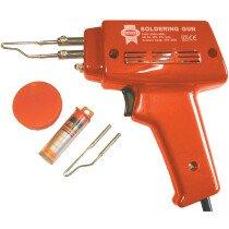 Faithfull FPPSGK SGK Solder Gun Kit 100w 240v